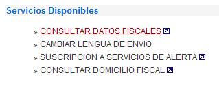 datos fiscales